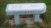 Custom Made Granite Bench